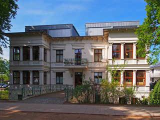 (Brise) Villa Medici Heringsdorf Hausansicht Promenadenseite