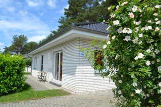 Ferienhaus Albatros Haus Albatros Seitenansicht/Auffahrt