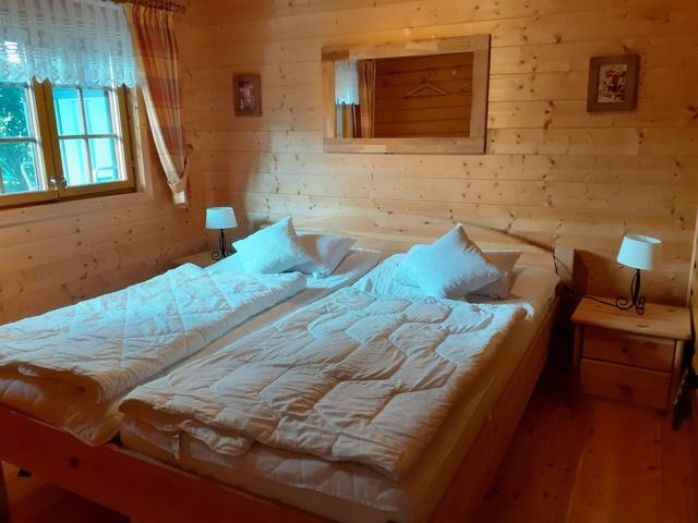 Schlafzimmer bei Tag