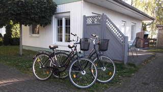 Zinnowitz Skanepark_Ferienhaus 31 und 32 2 Fahrräder inklusive