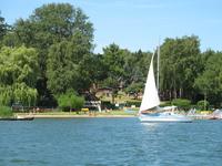 Ferienpark Heidenholz Ferienhäuser direkt am Strand mit Seebrücke