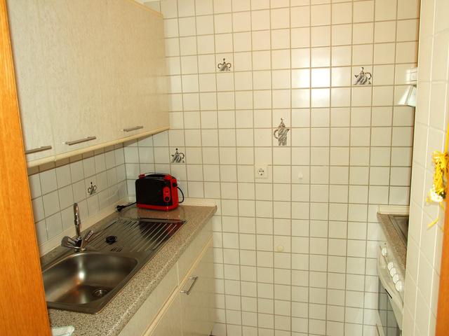 Ansicht kleine aber feine Küche