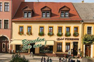 .Hotel zum Markt Haus Bäckerstraße Eingang Fußgängerzone