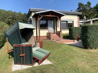 Ferienhaus Erna Haus mit Strandkorb