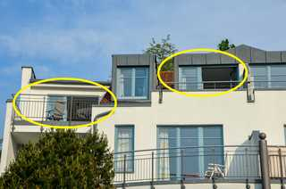 Larus Appartment Residenz Bellevue WG 5 Zwei Balkone