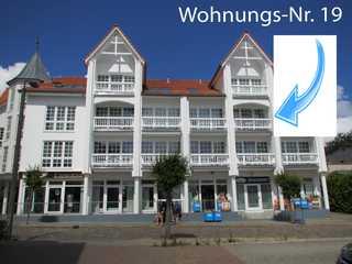 Ferienwohnung Haus Baltic SE-WI -WE 19 Haus Baltic, Front zur Kirchstraße