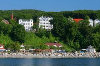 Villa Feodora - Das Haus mit dem einzigartigen Seeblick Blick vom Wasser