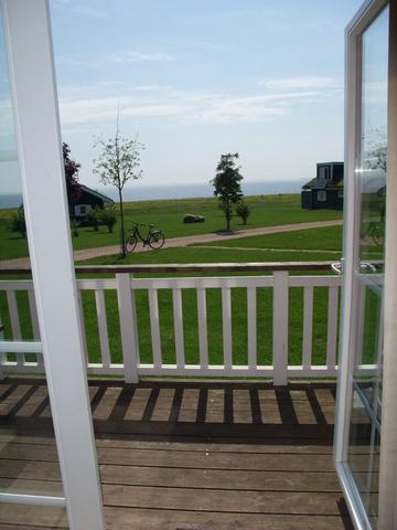 Blick aus den Doppelhaushälften in vorderer Reihe