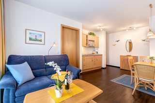 Bansin - Schloonseevillen FeWo SV_17 Wohnzimmer