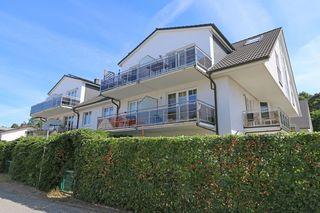 F : SEEMANN Appartement Whg. 03 mit Terrasse Hausansicht