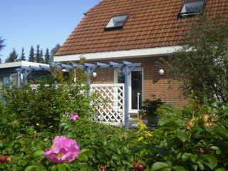 5-Sterne-Ferienhaus An der Wingst bei Cuxhaven Ferienhaus An der Wingst - Terrasse