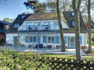 Strandhafer Whg. 1 Strandhafer - Blick auf das Haus von der Strand...
