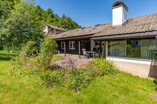 Haus Alpsee Haus und Terrasse