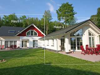 Strandhus Sellin F 535 Haus 1 mit großer Terrasse & Sauna Strandhus Sellin im Ostseebad Sellin Haus 1 Hau...
