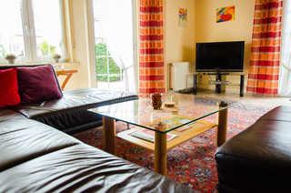 Ferienhaus Käptn Blaubär Wohnzimmer