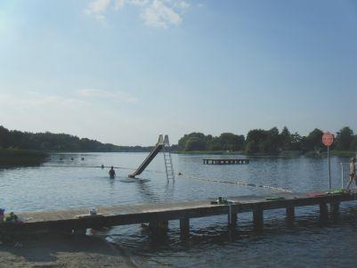 Klostersee mit Badesteg