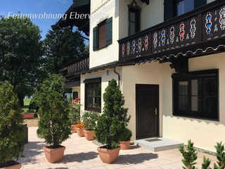 Ferienwohnung Eberwein Ferienwohnung Eberwein - Eingang und Terrasse