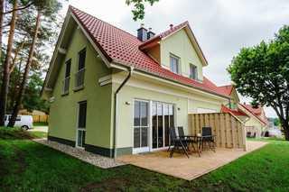 Ferienhaus Felix mit freiem Blick zum Gothensee Außenansicht