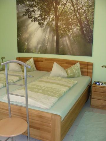 Schlafzimmer Ferienwohnung 10