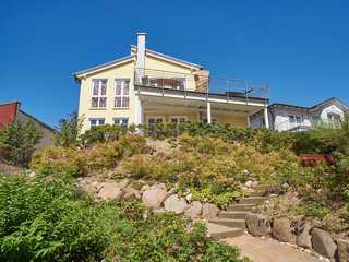 Villa Sommerwind F 583 WG 02 mit 37m² gr. Terrasse + Sauna Villa Sommerwind im Ostseebad Sellin Hausansicht
