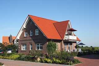 Haus Ankerplatz am Süderriff in Neuharlingersiel Außenansicht