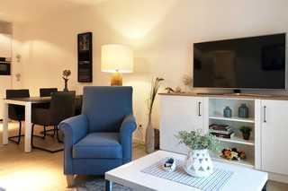 Seestern / Villa Sofie Wohnraum mit TV