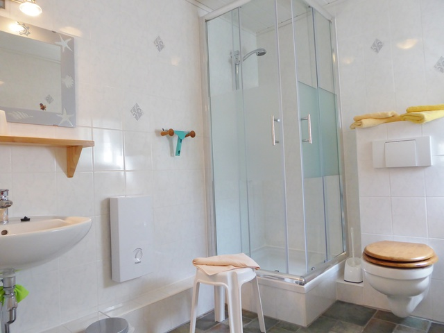 Ferienhaus Dusche-WC