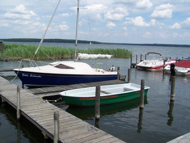 Boote am eigenen Hafen , Bootsverleih
