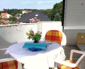 Ferienwohnung Schneider Balkon