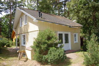 W: Strandhaus Dünenweg 17a mit Terrasse/Sauna/Kamin Hausansicht