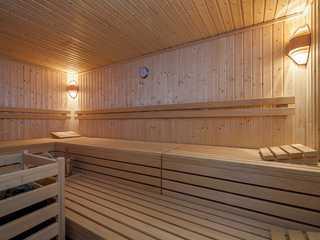Strandkörbchen Sauna