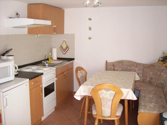 Küche Ferienhaus obere Wohnung