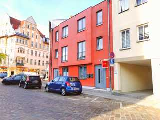 Ferienwohnung Timeout am Knieperteich Stadthaus im historischen Stadtkern