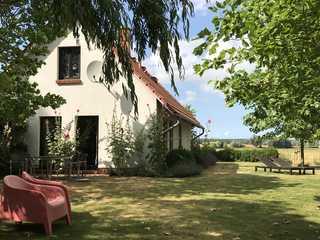 Ferienhäuser Michaelis 6 in Quilitz Terrasse