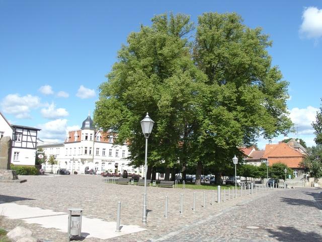 Marktplatz in Wesenberg
