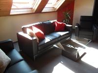Ferienwohnung in Linden Das Wohnzimmer