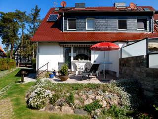 Ferienhaus-SUN-Schein in Templin Terrasse