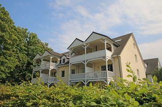 H: Ferienwohnung Kurs Nordost mit Balkon Außenansicht