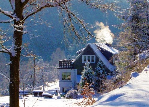 Ferienhaus Demberg im Winterzauber
