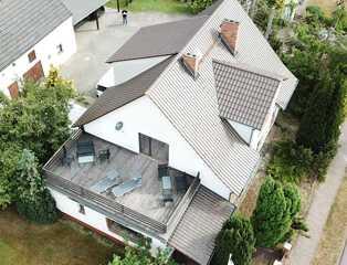 Haff - Ostseeferienhaus mit W-Lan und Dachterrasse Haff-Ostseeferienhaus