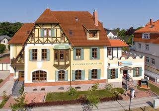 Kaiserliches Postamt 07 mit Ostseeblick Kaiserliches Postamt