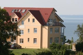 Villa Bergfrieden - Ferienwohnung 45426 Außenansicht
