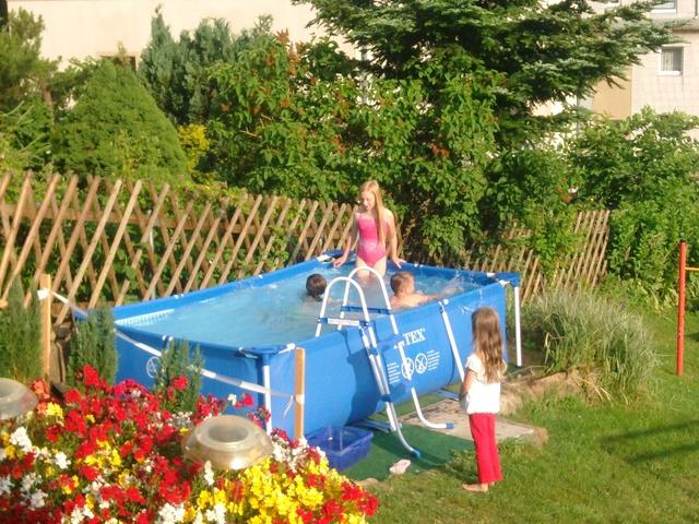Unser Pool für die Kids