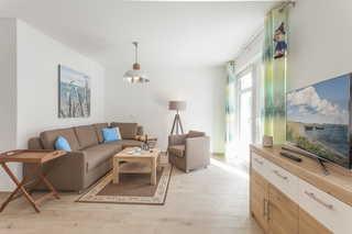 Villa Louisa Möwe offener Wohnbereich