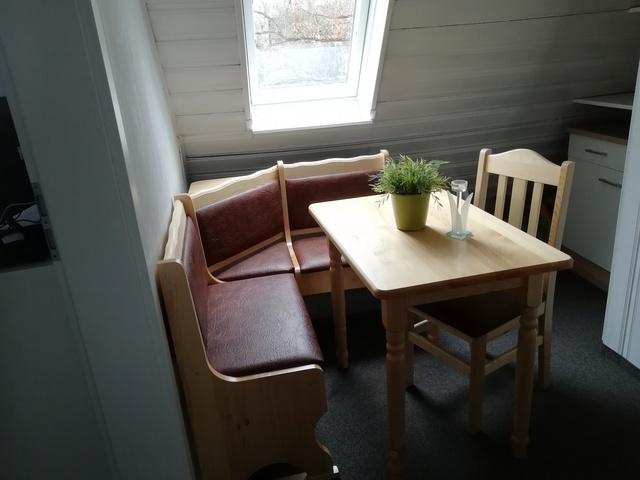 Essecke in der Wohnung Krähennest