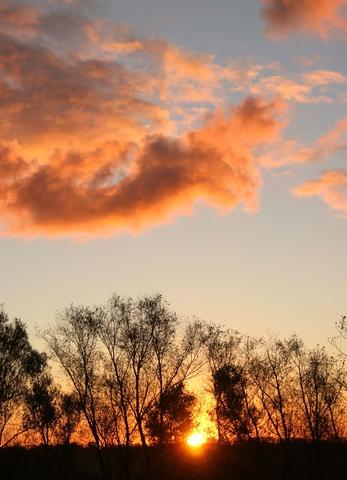 Sonnenaufgang in Steinbeck