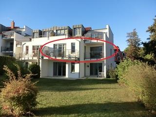 Appartement Residenz Bellevue Whg. 42 Usedom Lage der Wohnung