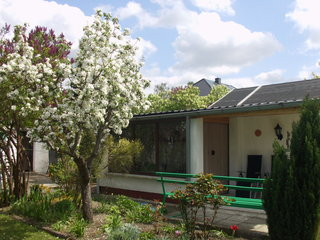 Bungalow mit Terrasse in Waren (Müritz) Bungalowansicht