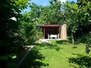 Ferienhaus an der Schwentine Garten