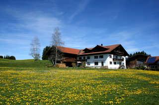 Haus Allgäu Ruh - Ferienwohnung Bergblick Haus Allgäu Ruh